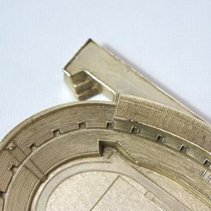 1950年代製造 初期 代々木国立競技場 公認金属模型