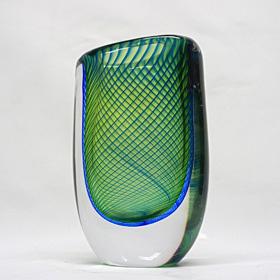 V.Lindstrand ガラスの中のフラクタル