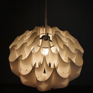 70's Austria Wilhelm Vest Style Pendant Lamp
