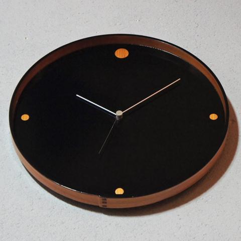 秋田 大館曲げわっぱ リメイク壁掛け時計