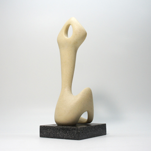 Artificial Marble Stone Body Abstract Sculpture