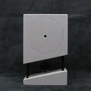 Germany Postmodern Marble Clock-L