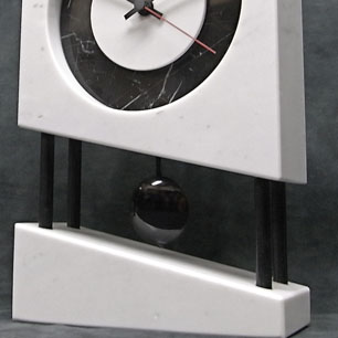 Germany Postmodern Marble Clock