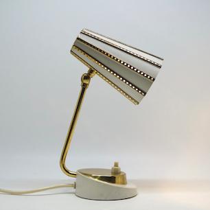 60's W-Germany Table Lamp  bauhaus