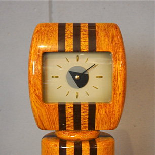 80's Post Modern Design Hall Clock