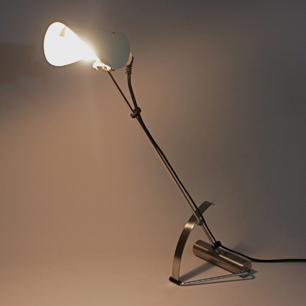 80's Mechanical Design Metal Work Lamp