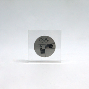""""""" Otl Aicher × Fritz Koenig """"ミュンヘン五輪 4番目のメダル"""