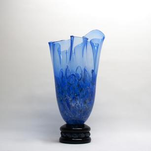 Murano Seguso Viro 「紺碧の地中海」