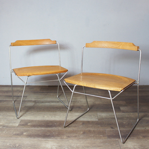 木曽三岳 奥村昭雄 「椅子を積む」という設計