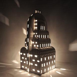 Palazzo di vista di notte