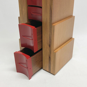 80's Italy Postmodern Design Small Chest