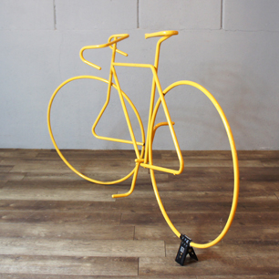 80's 1/1 Size Road Bike Iron Tube Display