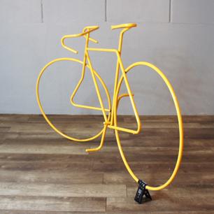 実物大ロードバイクの3Dピクトグラム!?