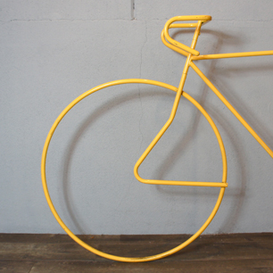 80's 1/1 Size Road Bike Iron Tube Display