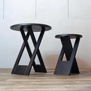 Roger Tallon Folding Table & Stool Set (Replica&Repaint)