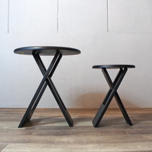 Roger Tallon Folding Table & Stool Set (Replica&Repaint)