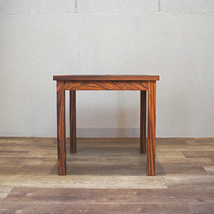 Vintage Denmark Rosewood × Tile-top Side Table