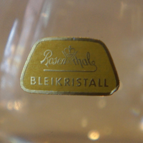 Germany Rosenthal-Bleikristall
