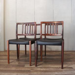 Scandinavia Rosewood Dining Table/Chair Set