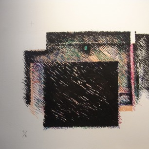 鈴木了二 物質試行46<br>「Fly Me to the Moon / Waltz for Debby」lithograph