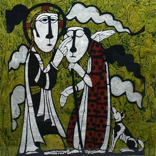 日本民藝の宗教画