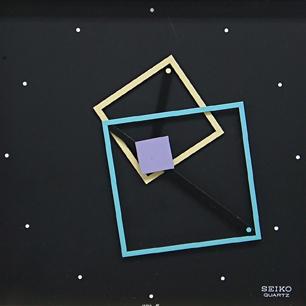80's SEIKO Postmodern Art Clock