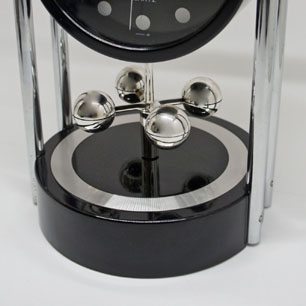 80's SEIKO Modern Design Rolling Mobile Table Clock