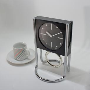 80's SEIKO Modern Design Pendulum Table Clock