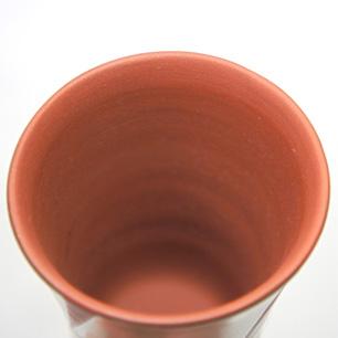 人間国宝 五代 伊藤赤水 無名異窯 ビアカップ ペアセット
