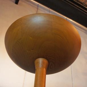 Solid Oak Craft Floor Lamp