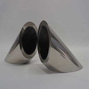 Solid Steel Cylinder Bookend /Paper Weight
