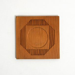 杉工芸コースター