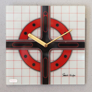 70's Fashion Mode Design Clock by Takashi Omura