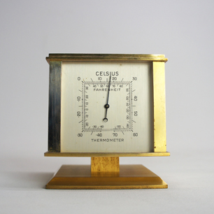 Tiffany & Co. Vintage Baro / Thermo / Hygrometer, and Clock