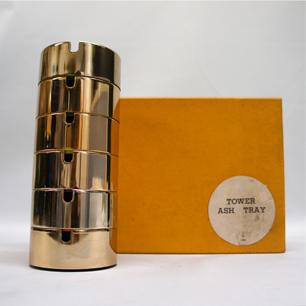 珍品!黄金色の「剣持灰皿」