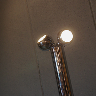 70's Twin Magnetic Ball Floor Lamp