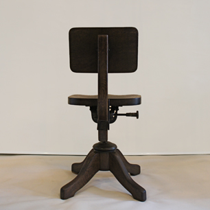 1930's U.S. Vintage Industrial Swevel Chair