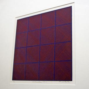 1972年 脇田愛二郎「Continuation-16-11」シルクスクリーン