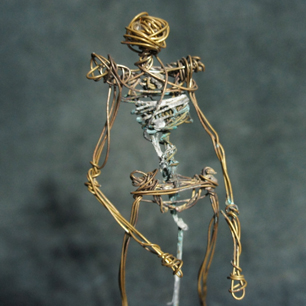 Wire Art Sculpture