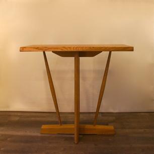 楢無垢 クラフト木工 コンソールテーブル