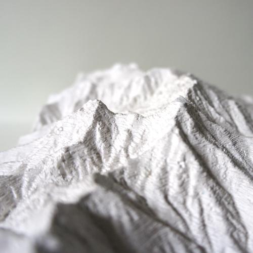 国土地理院「八ヶ岳」1:25000 山岳立体模型