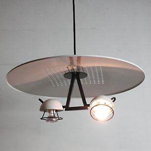 80's Postmodern Design Pendant Lamp