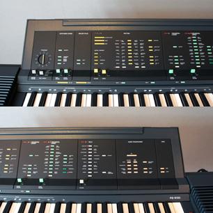 1984 Mario Bellini Design YAMAHA Electric Keyboard PS-6100