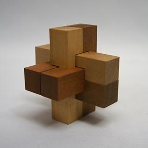 50~60's 山中組木パズル 英文BOX入